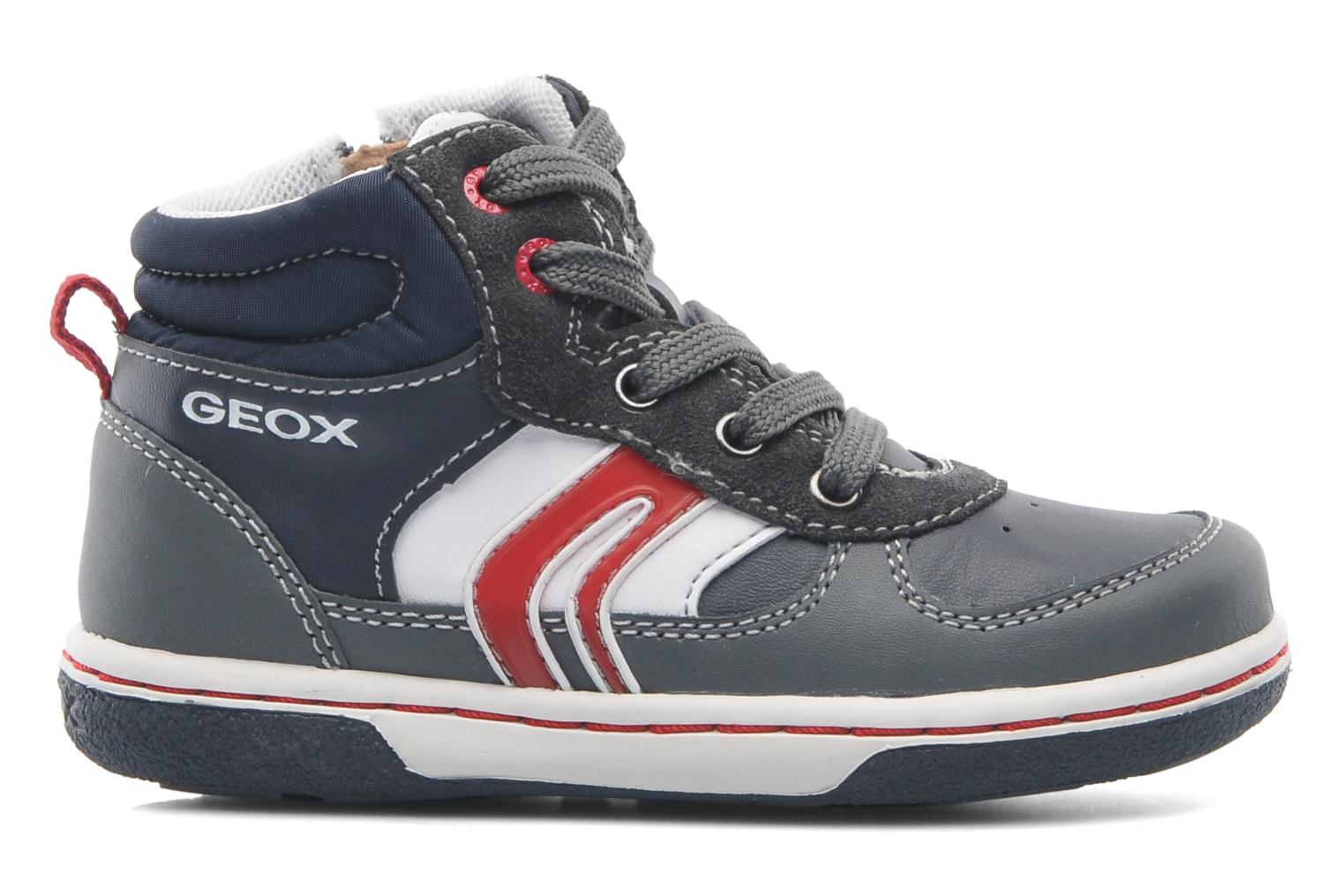 Trainers Geox Baby Flick Boy A B4437A Blue back view