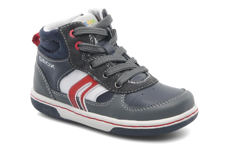 Sneaker Geox Baby Flick Boy A B4437A blau detaillierte ansicht/modell