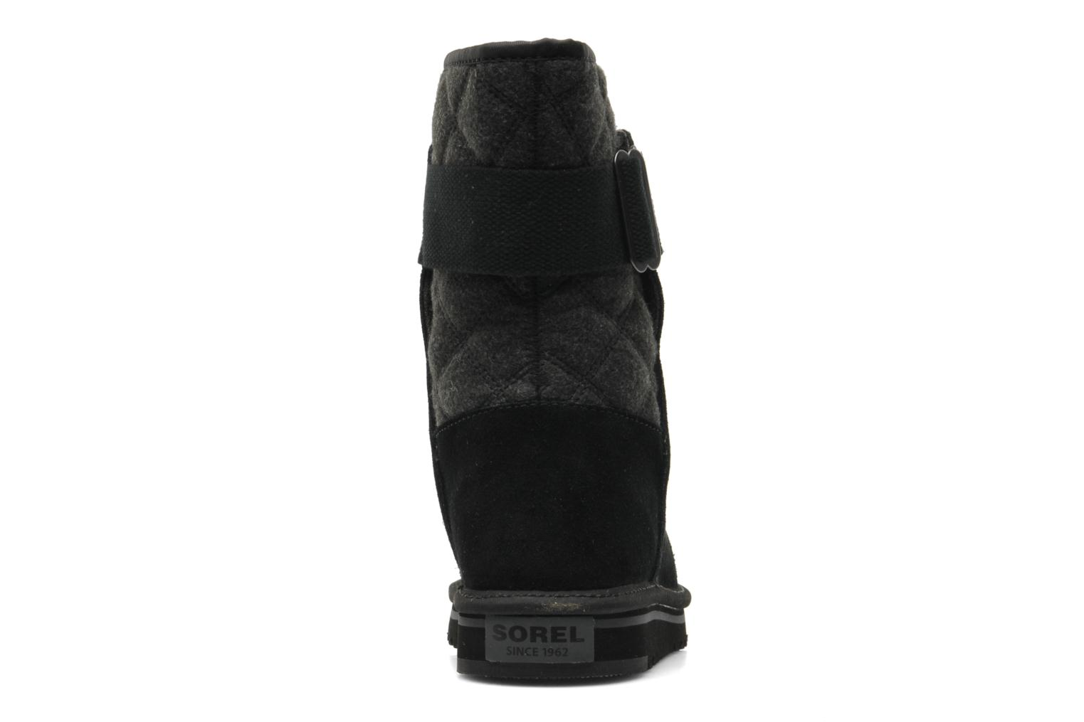 Ankle boots Sorel Newbie I Black view from the right