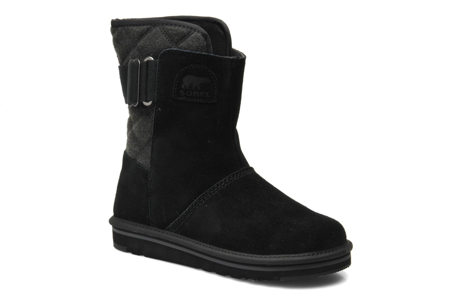 Ankle boots Sorel Newbie I Black detailed view/ Pair view