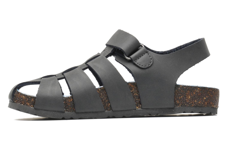 Sandales et nu-pieds Kickers MAGIFLO Gris vue face