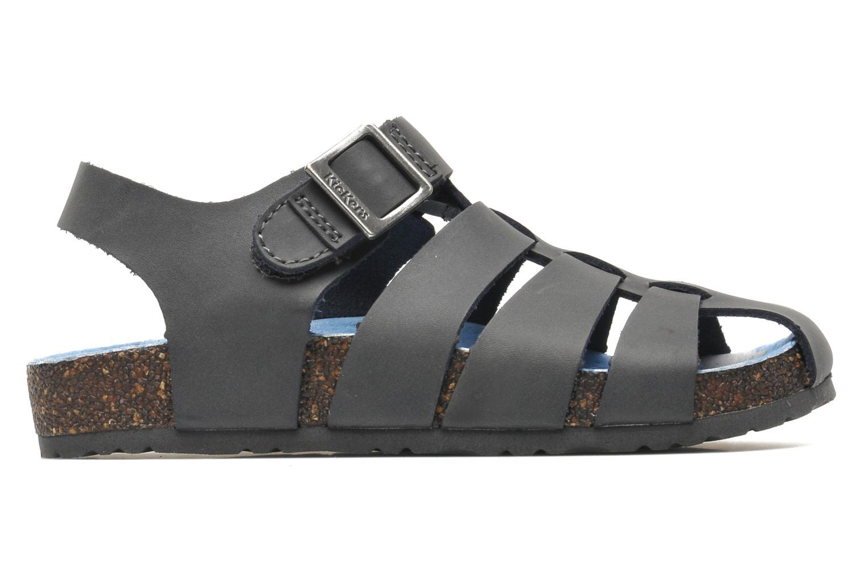 Sandales et nu-pieds Kickers MAGIFLO Gris vue derrière