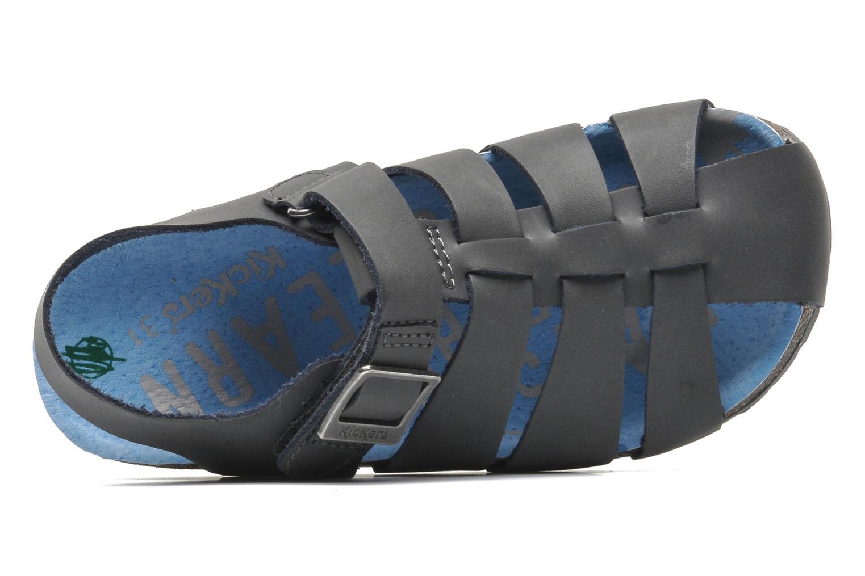 Sandales et nu-pieds Kickers MAGIFLO Gris vue gauche