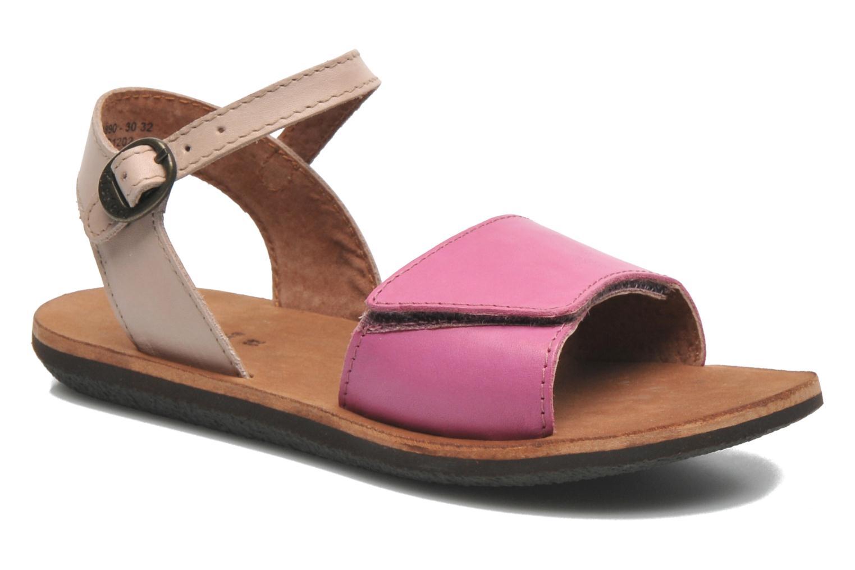 Sandalen Kickers SPARTINY rosa detaillierte ansicht/modell
