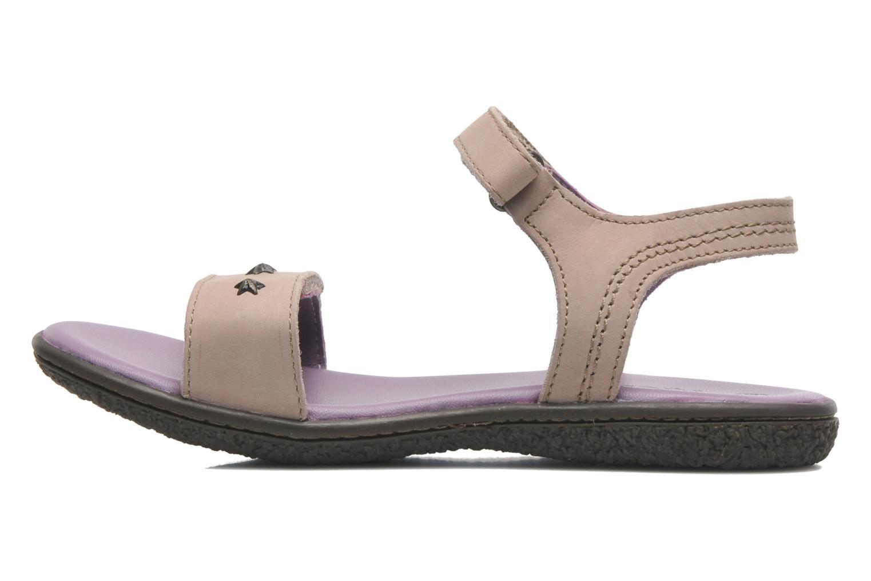 Sandales et nu-pieds Kickers VENICE1 Beige vue face