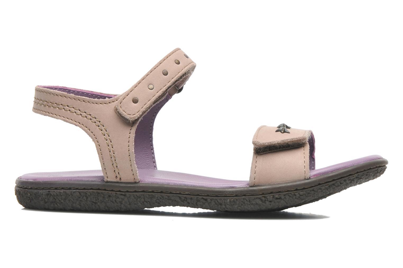 Sandales et nu-pieds Kickers VENICE1 Beige vue derrière