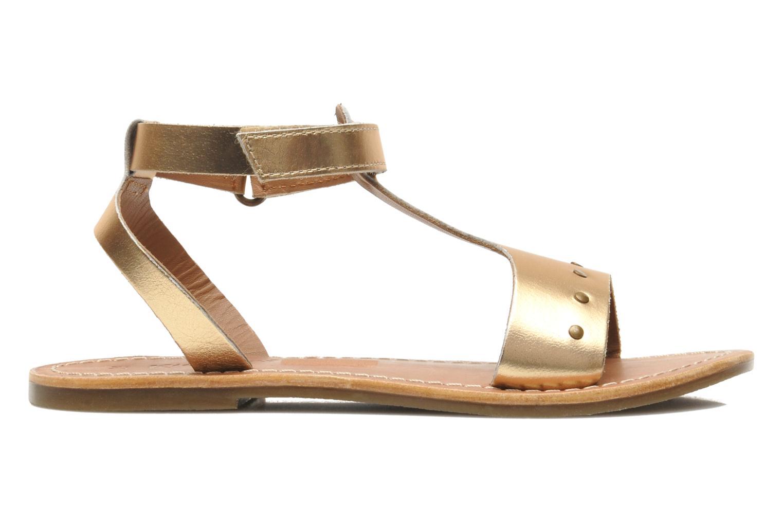 Sandalen Kickers DIZAINE V gold/bronze ansicht von hinten