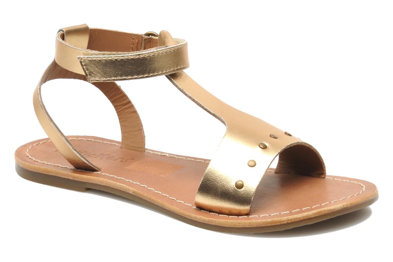 Sandalen Kickers DIZAINE V gold/bronze detaillierte ansicht/modell