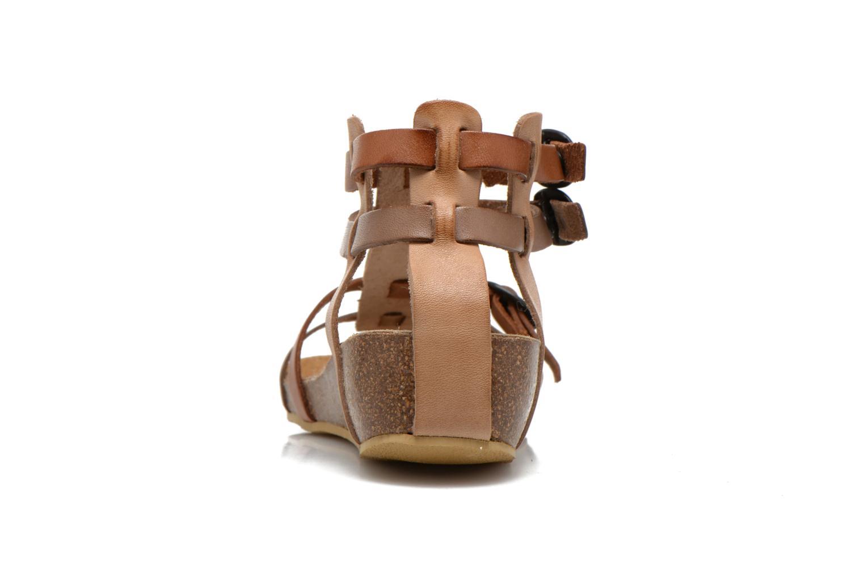 Sandales et nu-pieds Kickers BOMDIA Marron vue droite