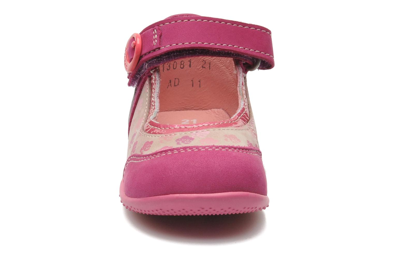 Ballerinas Kickers BIKIFLEUR rosa schuhe getragen