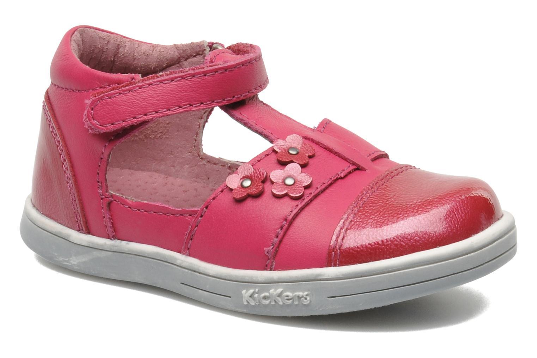 mit Klettverschluss Kickers TREFUN rosa detaillierte ansicht/modell