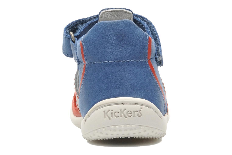 Sandalen Kickers GALILEO Blauw rechts