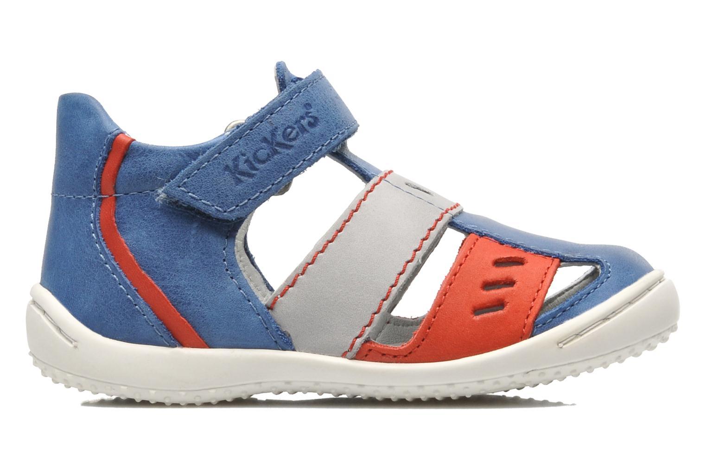 Sandalen Kickers GALILEO Blauw achterkant
