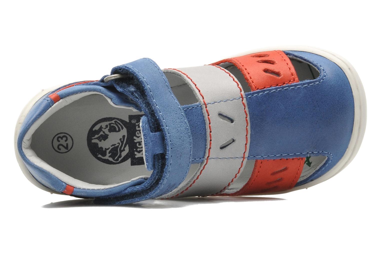Sandalen Kickers GALILEO Blauw links