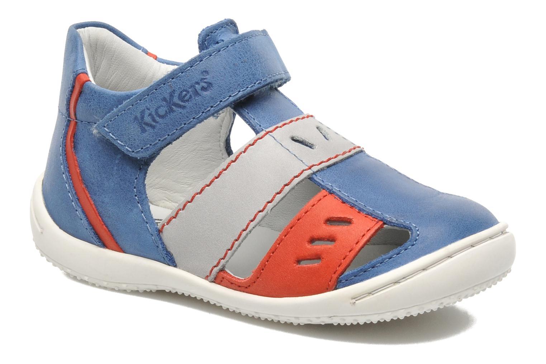 Sandalen Kickers GALILEO Blauw detail
