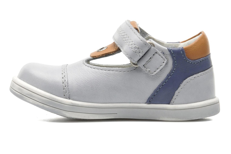 Schoenen met klitteband Kickers TROPICO Grijs voorkant
