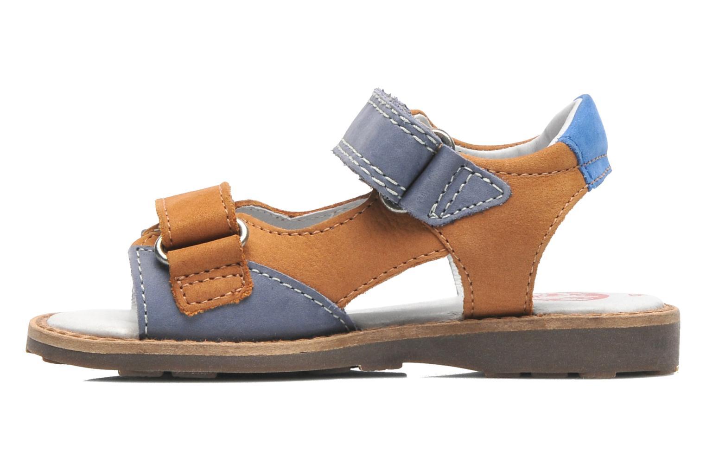 Sandalen Kickers YUKI braun ansicht von vorne