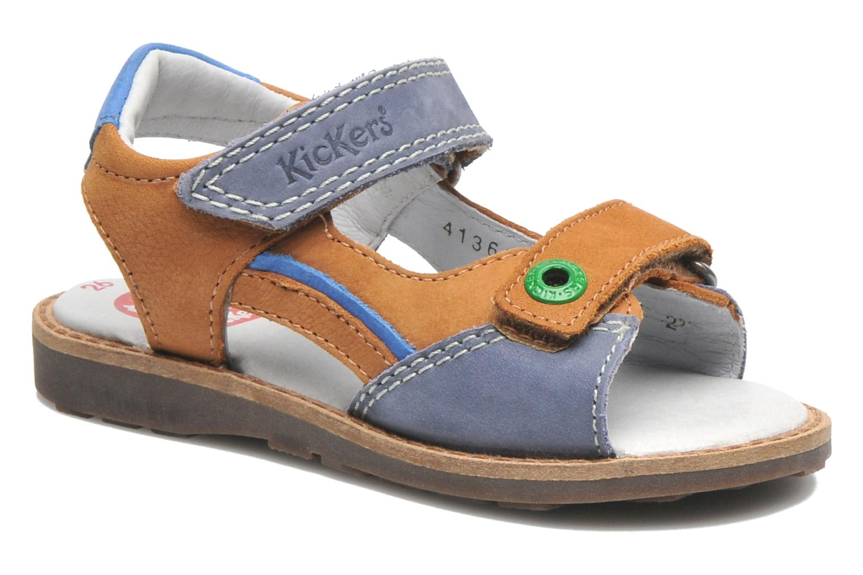Sandalen Kickers YUKI braun detaillierte ansicht/modell