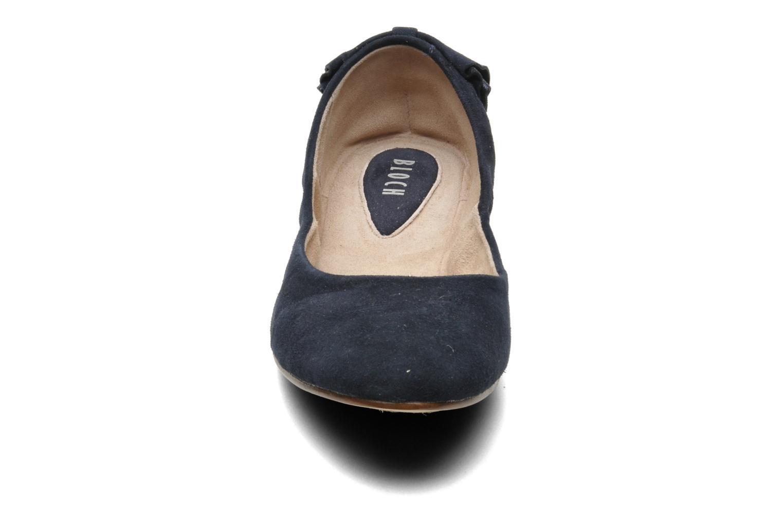Ballerinas Bloch Yse blau schuhe getragen