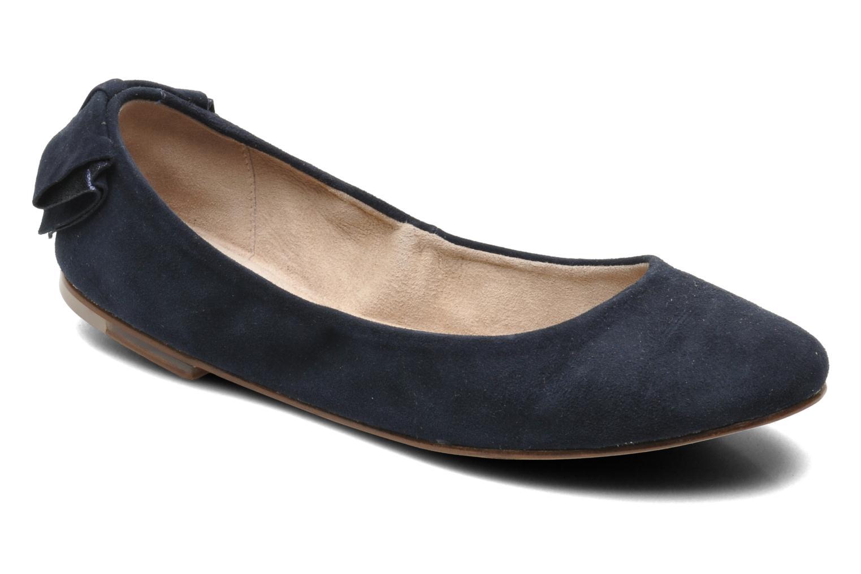 Ballerinas Bloch Yse blau detaillierte ansicht/modell