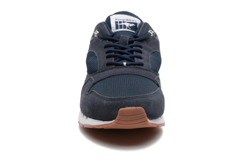 Baskets Kangaroos Rage Solid Bleu vue portées chaussures