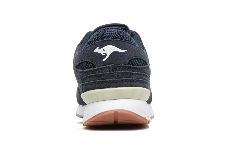 Baskets Kangaroos Rage Solid Bleu vue droite