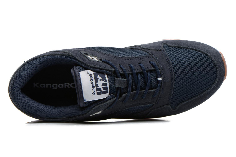 Sneakers Kangaroos Rage Solid Blauw links