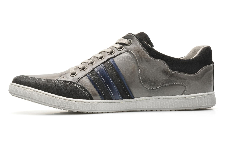 Sneaker Marvin&Co Wilfy grau ansicht von vorne