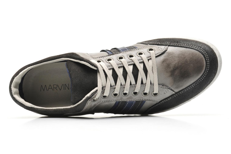 Sneaker Marvin&Co Wilfy grau ansicht von links