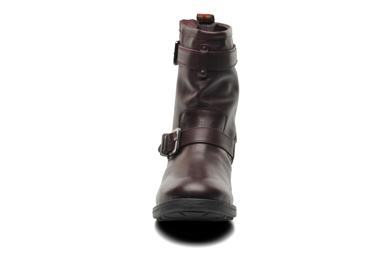 Bottines et boots Pepe jeans Pimlico Basic Bordeaux vue portées chaussures
