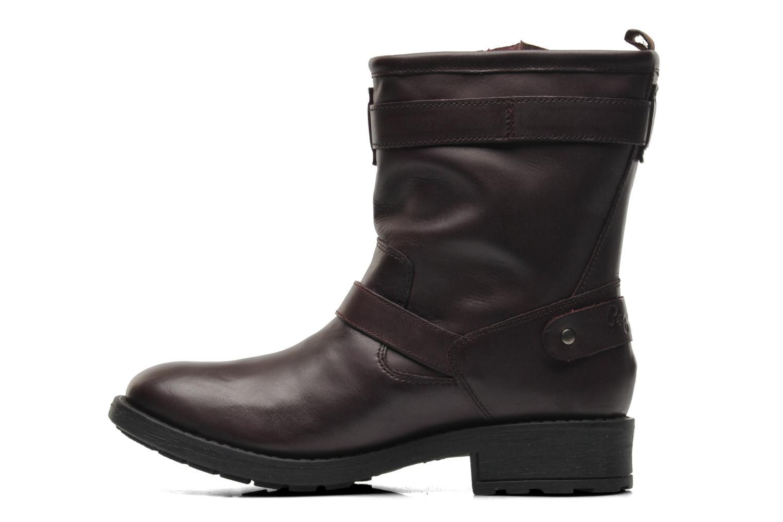 Bottines et boots Pepe jeans Pimlico Basic Bordeaux vue face