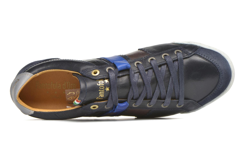 Sneaker Pantofola d'Oro Pesaro Piceno Low Men blau ansicht von links