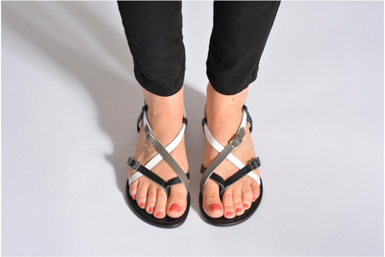 Sandals Elizabeth Stuart Hop 683 Multicolor view from underneath / model view