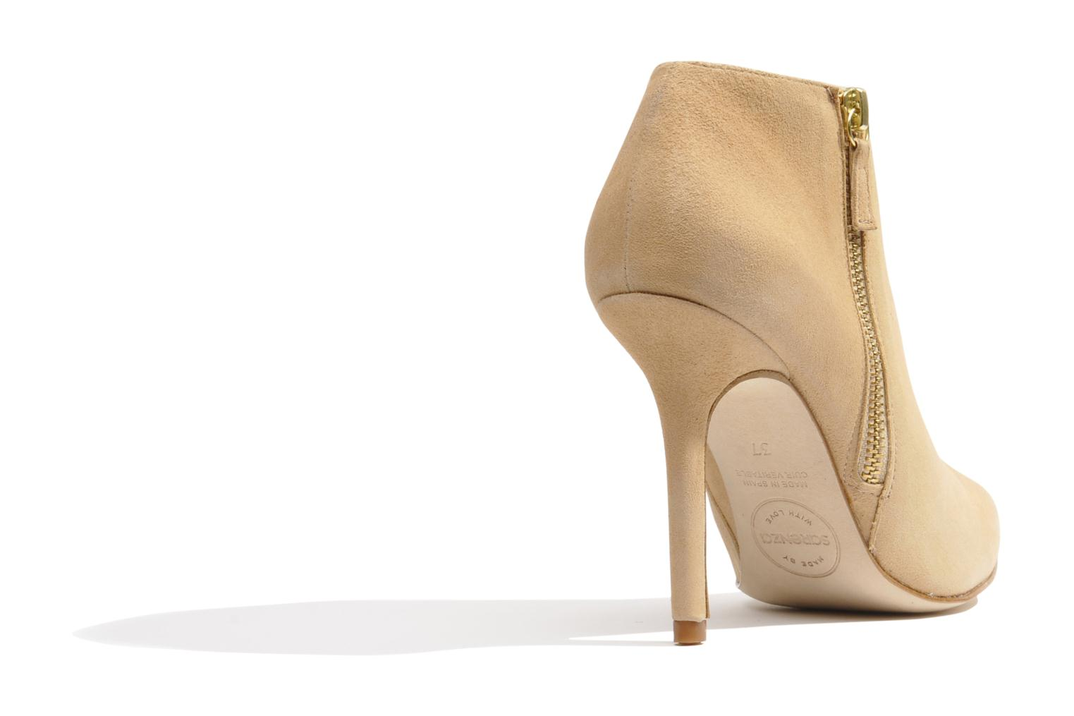 Ankle boots Made by SARENZA Roudoudou #13 Beige front view