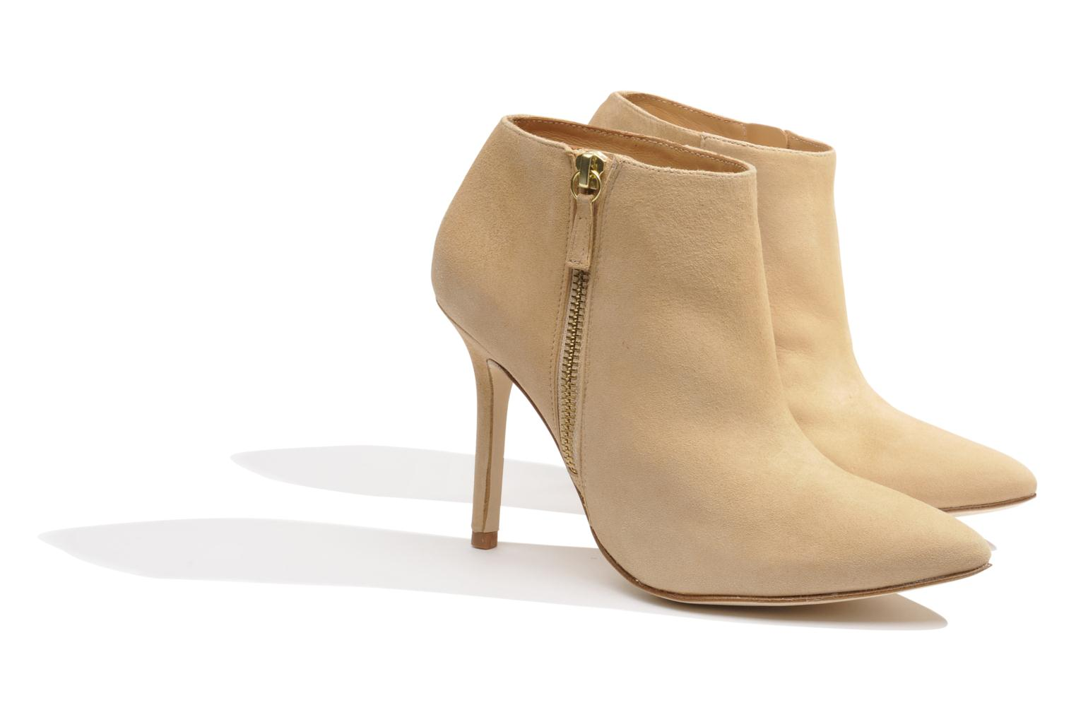Ankle boots Made by SARENZA Roudoudou #13 Beige back view