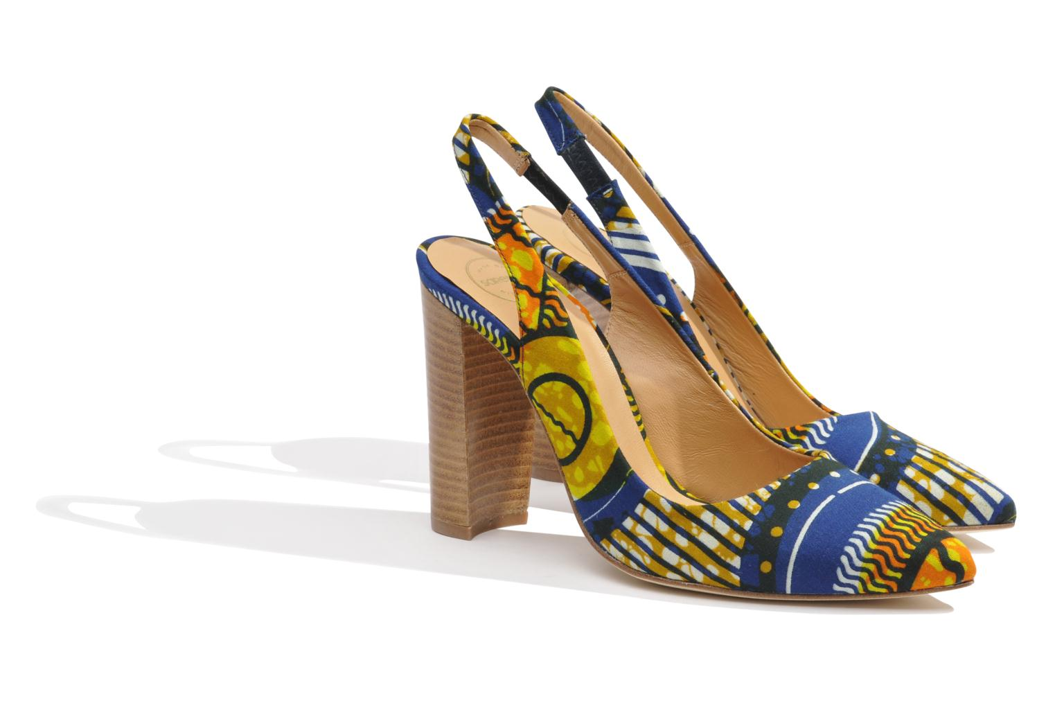 Pumps Made by SARENZA Bamako #1 Multicolor achterkant