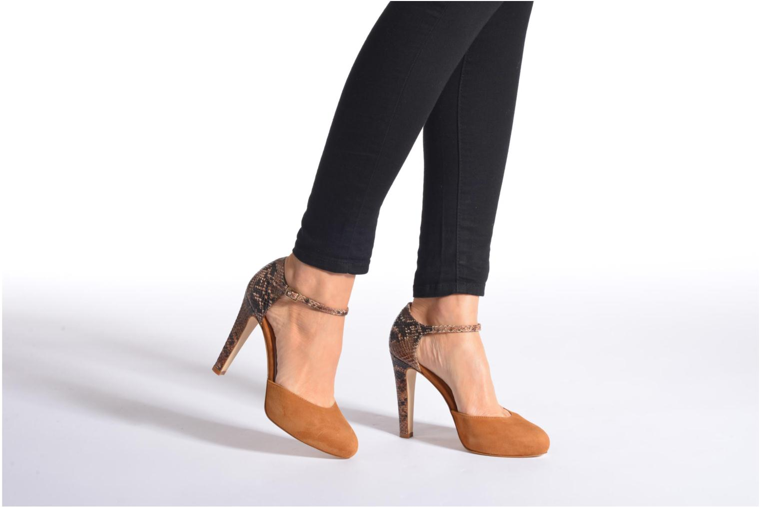 Pumps Made by SARENZA Loulou au Luco #8 Bruin onder