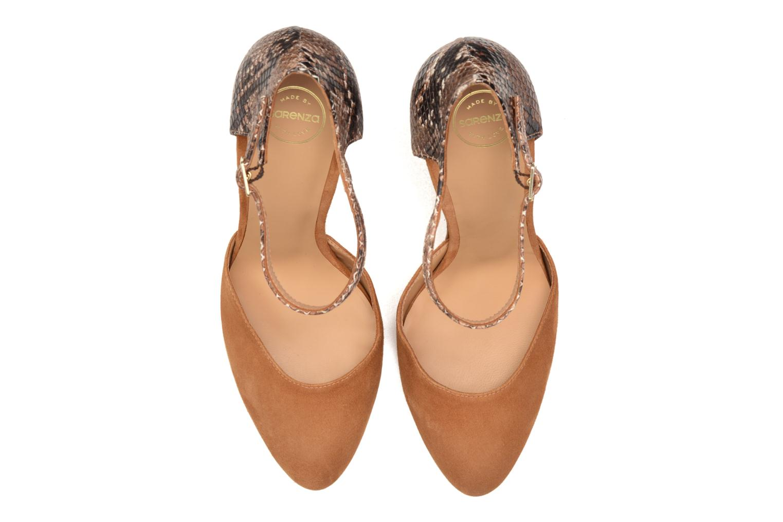 Escarpins Made by SARENZA Loulou au Luco #8 Marron vue portées chaussures
