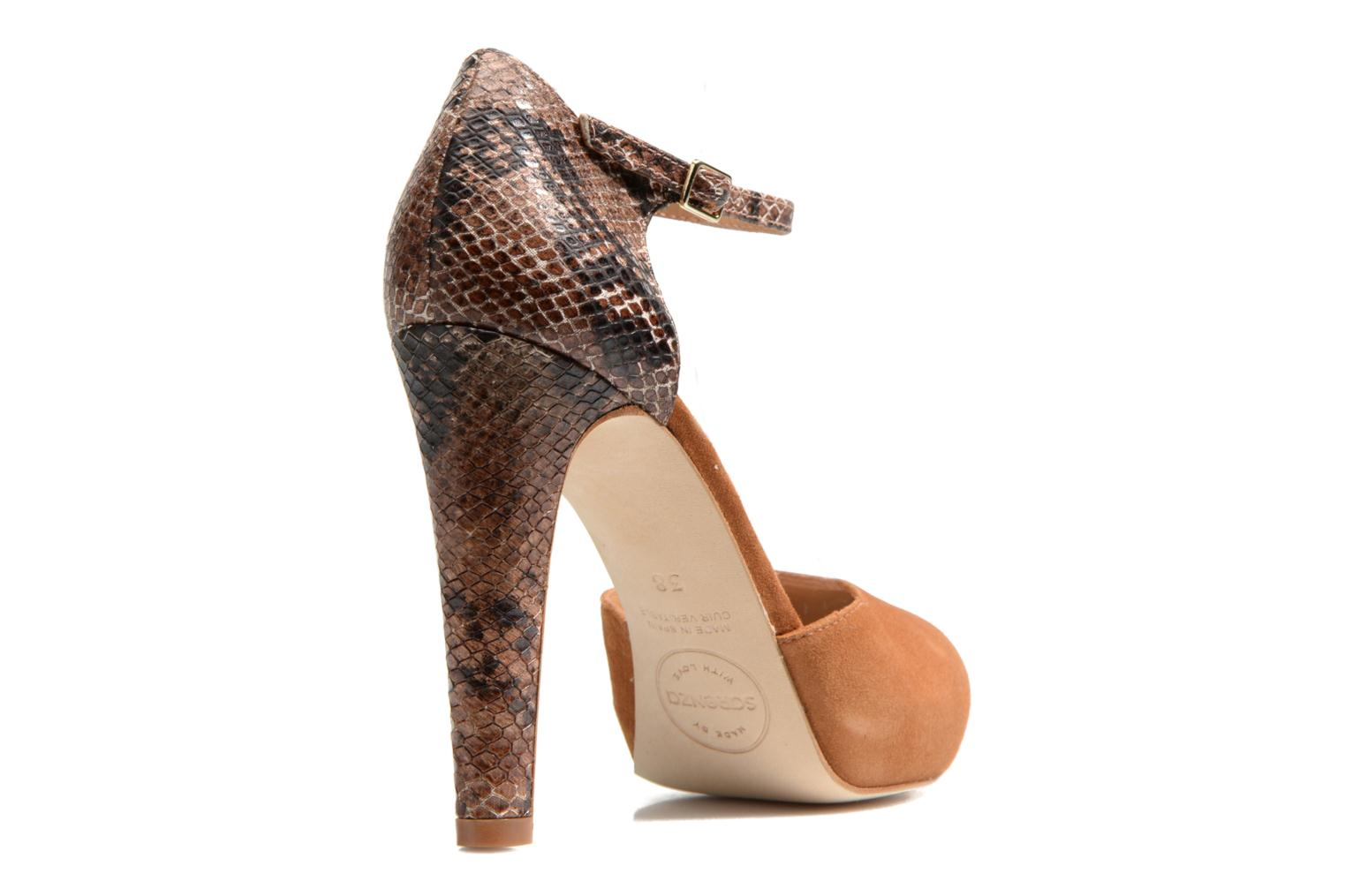 Pumps Made by SARENZA Loulou au Luco #8 Bruin voorkant
