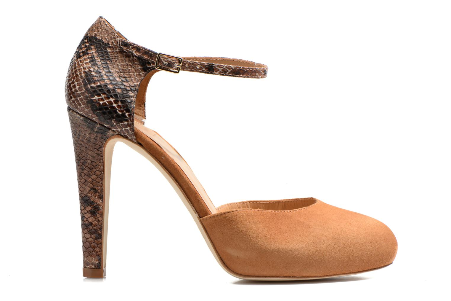 Pumps Made by SARENZA Loulou au Luco #8 Bruin detail