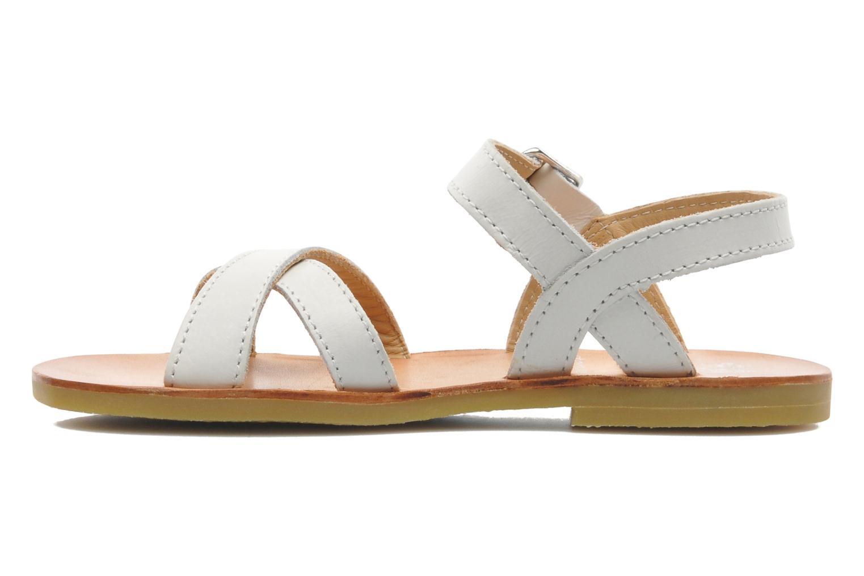 Sandales et nu-pieds Start Rite Nice 2 Blanc vue face