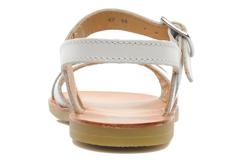 Sandales et nu-pieds Start Rite Nice 2 Blanc vue droite