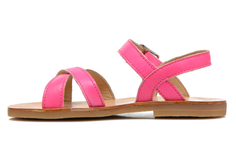 Sandales et nu-pieds Start Rite Nice 2 Rose vue face