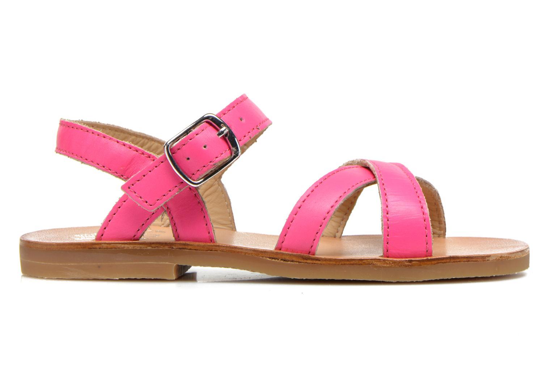 Sandales et nu-pieds Start Rite Nice 2 Rose vue derrière