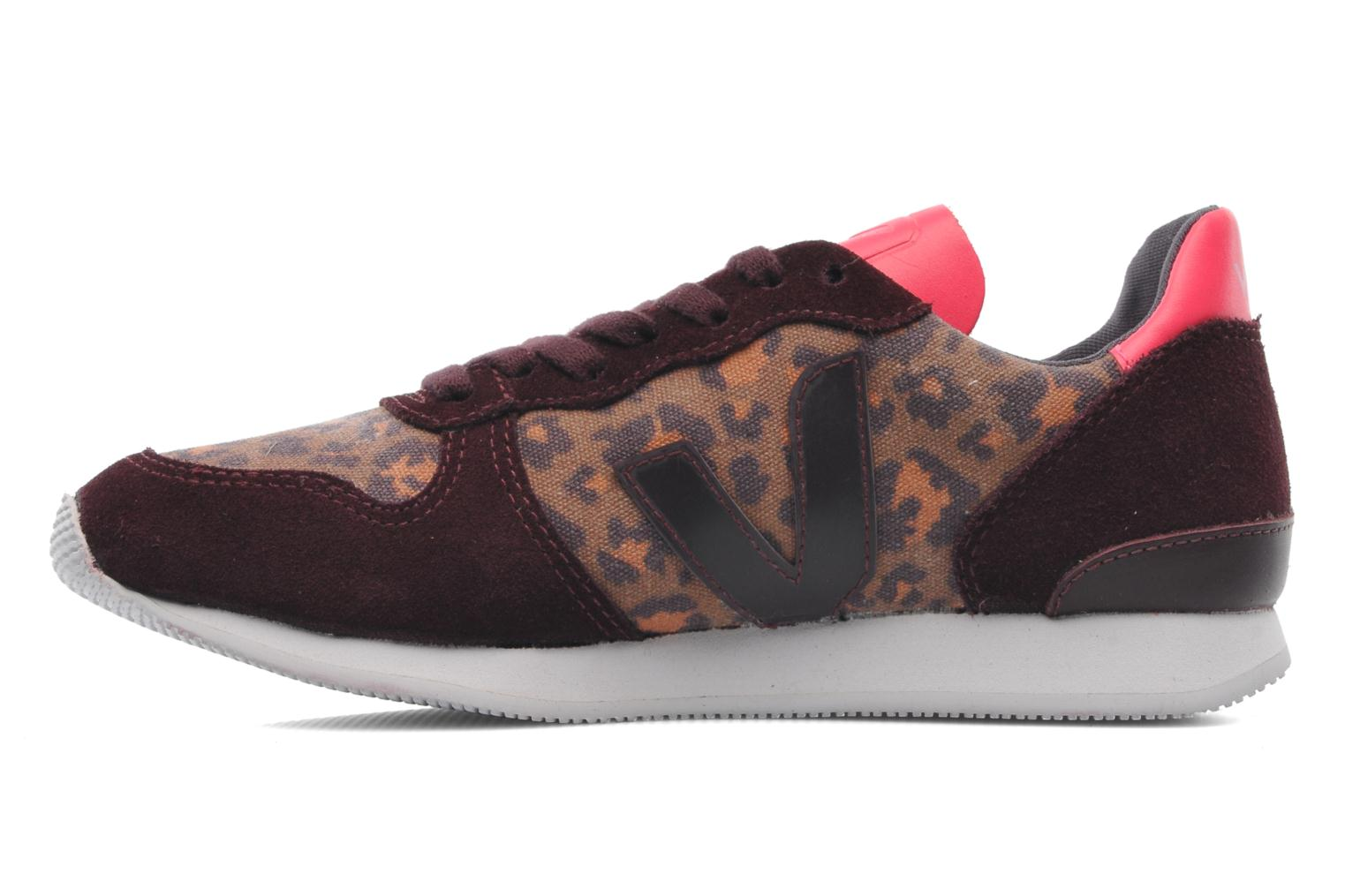 Holiday W Leopard Burgundy