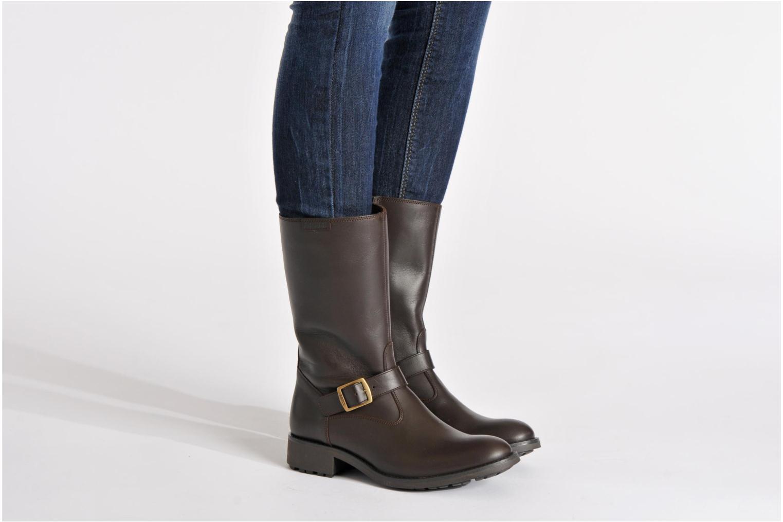 Bottines et boots Aigle Chantebike Marron vue bas / vue portée sac