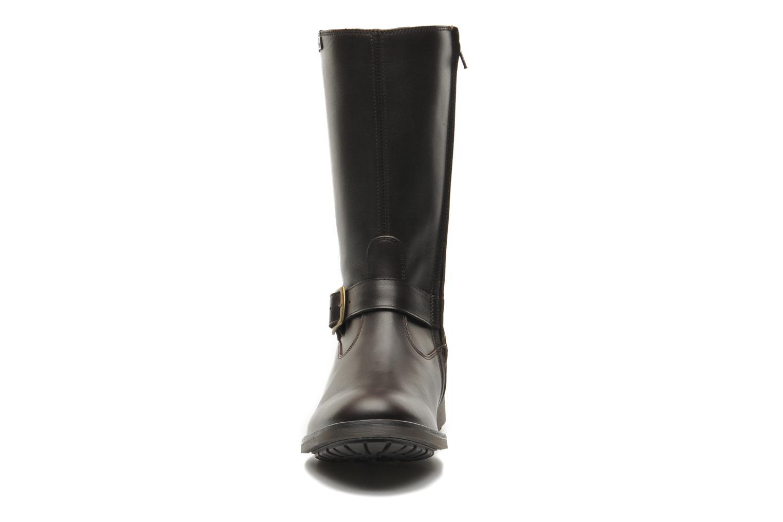 Stiefeletten & Boots Aigle Chantebike braun schuhe getragen