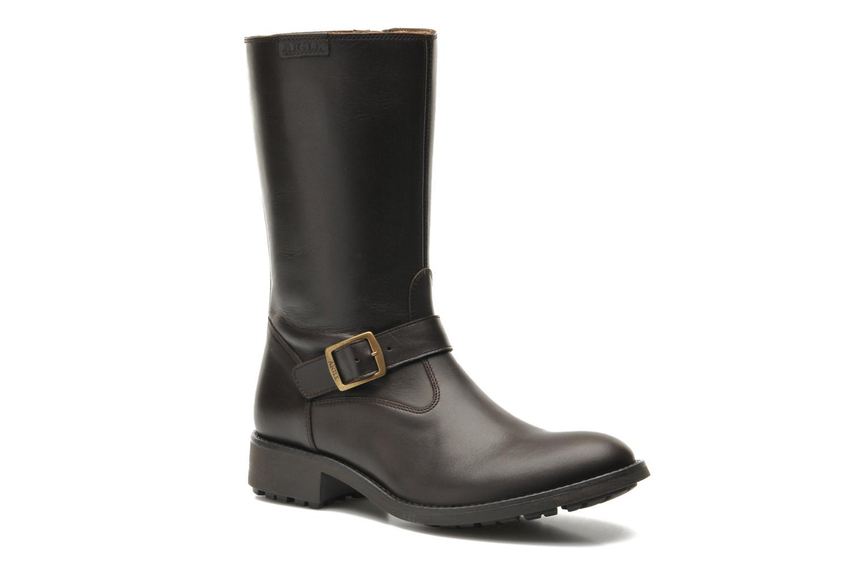 Ankelstøvler Aigle Chantebike Brun detaljeret billede af skoene