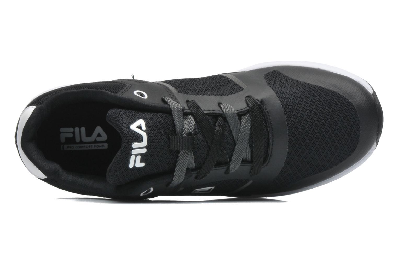 Sneaker FILA Newman Low schwarz ansicht von links