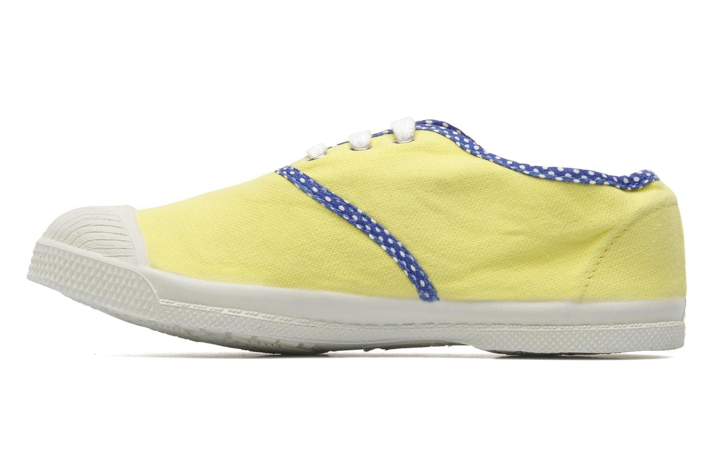 Deportivas Bensimon Tennis Colorpois E Amarillo vista de frente